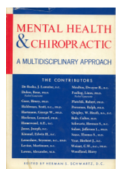 Chiropractic and Mental health book cover