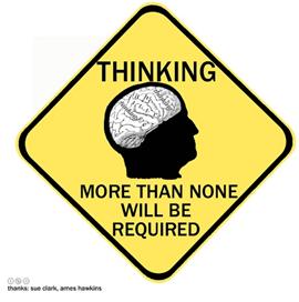 Thinking sign